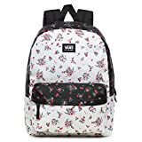 Vans Realm Classic - Mochila para mujer, diseño floral