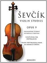 Sevcik Violin Studies - Opus 9: Preparatory Studies in Double-Stopping