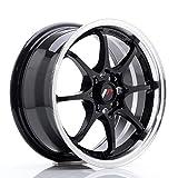 Japan Racing JR5 Glossy Black - 15x7 ET35 4x100 Llantas de aleación (Competición)