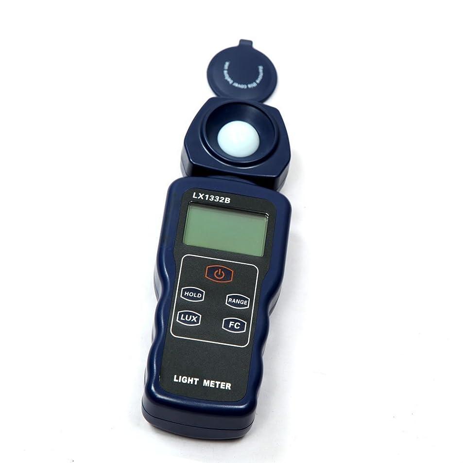 息苦しい腰富測定工具 デジタル照度計 ルクスメーター 200000ルクス LEDライト ラックスメーター スペクトラテスタ オートレンジ デジタル照度計