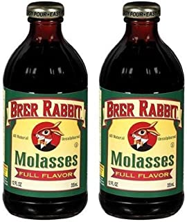 Brer Rabbit Full Flavor Molasses, 12 oz (Pack of 2) by Brer Rabbit