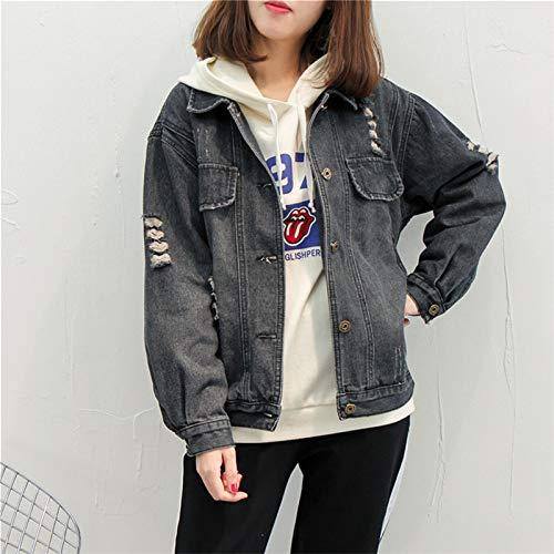 NZJK vrouwen jeansjas lente vrouwelijk jack mode vrouwelijk bomberjack losse cowboy mantel casual jean mantel