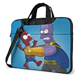 Laptop Sleeve Bag The Simpsons Spider Thanos Laptop Sleeve Case Cover 13 Inch, MacBook Air Pro Notebook Sleeve Case, Tablet Briefcase Ultra Portable Protective Case