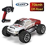 s-idee® 18108 A979-B RC Auto Buggy Monstertruck 1:18 Truck mit 2,4 GHz 70 km/h schnell WL