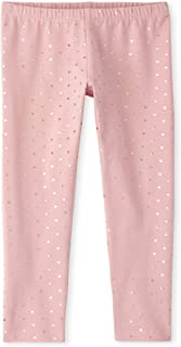 The Childrens Place Girls Matchable Printed Leggings