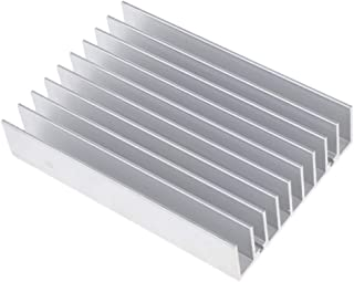 Baosity Semiconductor Transistor Heatsink Fin for Electrical Equipment Cooling Fan Computer Component Accessory 110x76x21.5mm