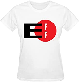 Women's The Electronic Frontier Foundation Short Round T-shirt