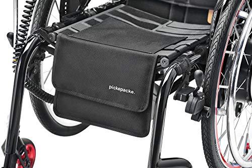 pickepacke. Rollstuhltasche klein mit Innenfächern