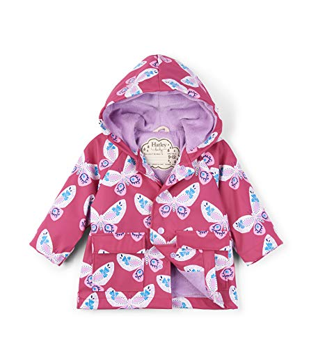 Hatley Printed Raincoats Imperméable, (Decorative Butterflies), (Taille fabricant: 9-12 mois) Bébé garçon