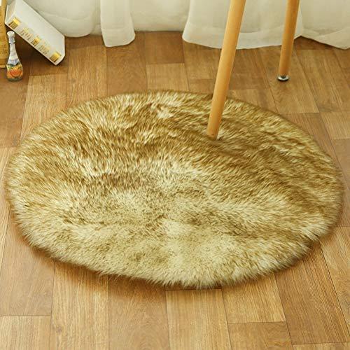ZHHAOXINPA leicht Waschbare Wollteppiche, Wohnzimmerteppiche, geeignet für Schlafzimmerteppiche,...