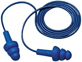 3M E-A-R UltraFit Earplugs 340-4007, Metal Detectable, Corded, Poly Bag, 400 Pair/Case
