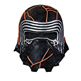 BIRDEU Kylo Ren Maske SW9 The Rise of Skywalker Film Voller Kopf Latex Helm für Herren Erwachsene...