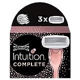 Wilkinson Sword Intuition Complete - Cuchillas de afeitar para mujer (3 unidades)