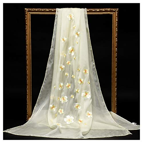 Moda Bufanda Chal Pañuelos de gama alta de la bufanda de seda de las señoras elegantes con estilo de bordado chino Chales de alta gama cajas de regalo, la mejor opción for las madres y las novias Bufa