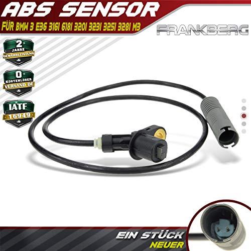 ABS Sensor Hinten Links oder Rechts für 3er E36 < 316 318 320 323 325 328 M3 > Bj. 1990-1999