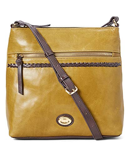 Tignanello A-List Cross Body, Hunter/Brown