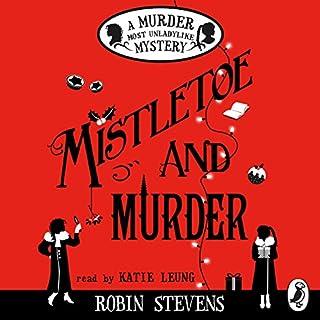 Mistletoe and Murder cover art