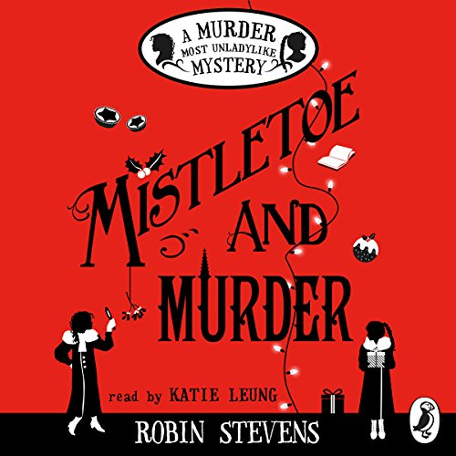 Mistletoe and Murder cover art