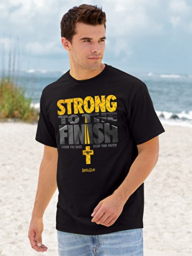 Kerusso Strong to The Finish T-Shirt – Christian Fashion Gifts