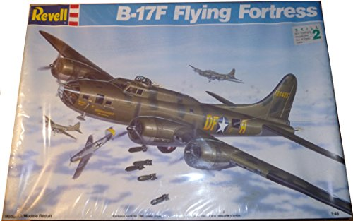 B-17F Flying Fortress 1/48 Model Kit 4701 by Revell