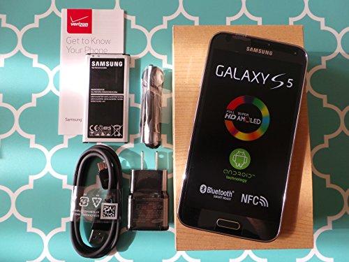Straight Talk Samsung Galaxy S5. Use Verizon Towers on Straight Talk. (Black)