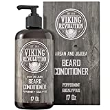 Beard Conditioner w/Argan & Jojoba Oils - Softens &...