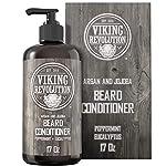 Beard Conditioner w/Argan & Jojoba Oils - Softens & Strengthens - Natural Peppermint and Eucalyptus Scent- Beard… 2