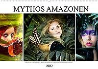 Mythos Amazonen (Wandkalender 2022 DIN A2 quer): Wagemutige Kriegerinnen (Monatskalender, 14 Seiten )
