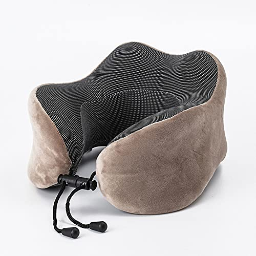Reisekissen - Ergonomisches Design Memory Foam Kissen - Nackenkissen für Flugzeug, Zug oder Auto