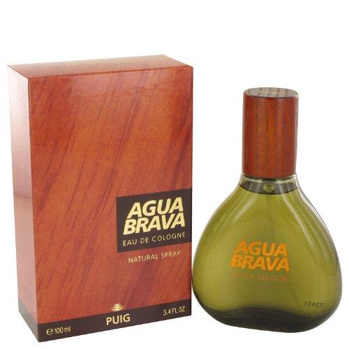 PUIG–agua brava agua de colonia Spray 100ml/3.4oz–Perfume Hombre