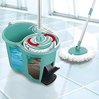 CLEANmaxx Power Mop avec système de Filtration à Deux Chambres | l'eau Sale est filtrée, essorage Facile pour Une propreté...