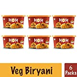 MOM Instant Veg Biryani(Mixed Rice) (Pack of 6) - Meal of the Moment