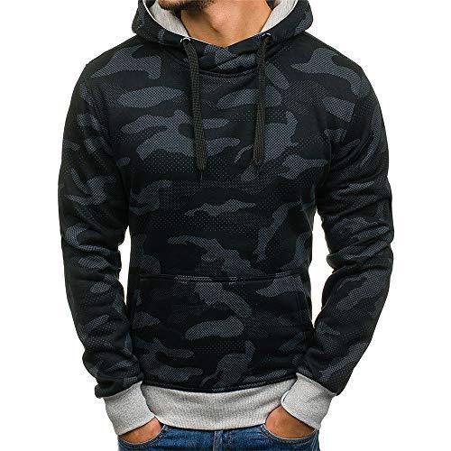 PRJN Mens Pullover Fleece Sweatshirt Camouflage Hoodies Mens Hoodie Sweater Mens Sweat Camo Hoody Sports Mens Fleece Pullover Hooded Sweatshirt Mens Hoodie Sweater Mens Long Sleeve Hoodie