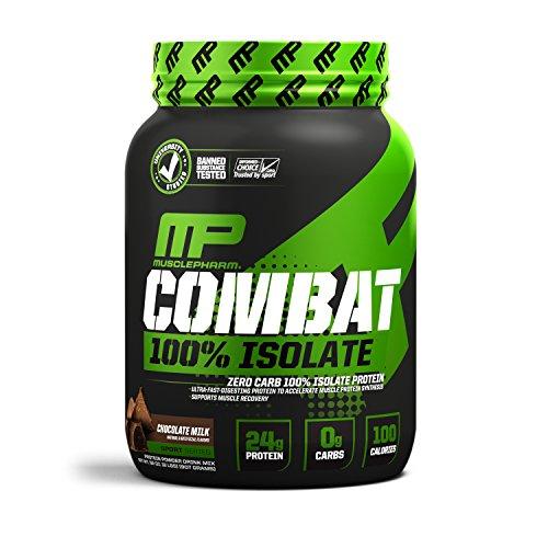 MusclePharm 2 lb Chocolate Combat Isolate