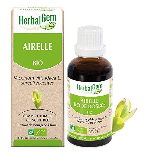 HerbalGem - Airelle Bio - Macérats-Mères de Gemmothérapie Concentrée - 30 ml