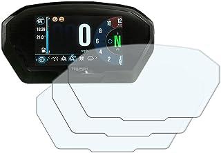 speedo-angels 3x Triumph Tiger 800/12002018> TFT salpicadero Protector de pantalla: ultra-clear