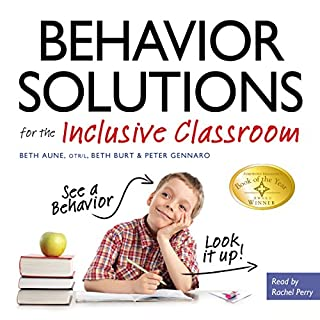 Behavior Solutions for the Inclusive Classroom audiobook cover art
