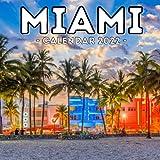Miami Calendar 2022: 16-Month Calendar, Cute Gift Idea For Florida Lovers Women & Men