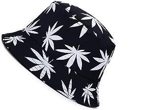 Tweal Sombrero de Pescador,Algodón Plegable Bucket Hat Unisex para Hombres Mujeres Adolescentes Acampar al Aire Libre Send...