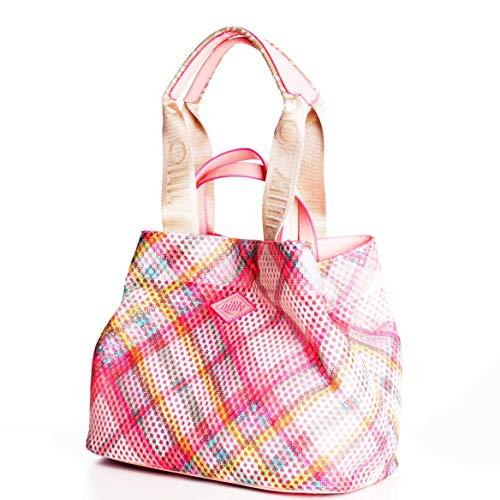 Oilily Checky Damen City Shopper OIL0146-335 Candy Pink