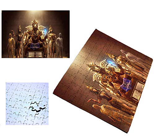 PUZZLE 96 PIEZAS FARAON EGIPTO GIZA PIRAMIDES rompecabezas educativo puzle