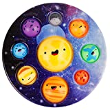 Simple Popper Fidget Dimple Bubble Toys, Planet Dimple Figet Satisfying Toys, Stress Relief Anxiety Autism Siple Diple Fun Easy Carry Toys for Kids, Popping Plastic Hard Shell Push Special Needs Toys