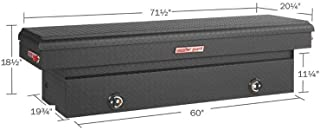 WEATHER GUARD 1275202 Matte Black Aluminum Saddle Box
