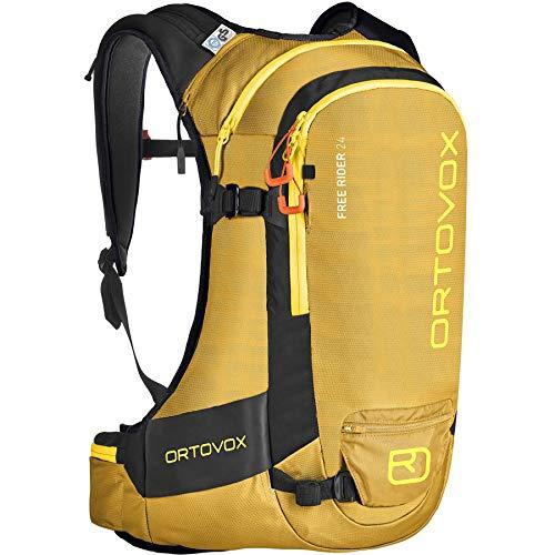 ORTOVOX Free Rider 24 Mochila, Unisex Adulto, Yellowstone, 24 litros
