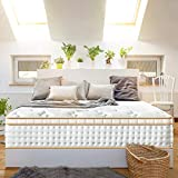BedStory 12.5 inch Gel Spring Mattress, Mattress in a Small Box, White Luxury