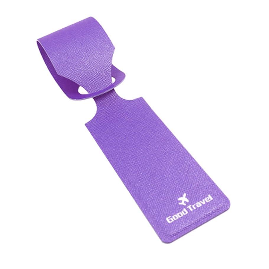 選挙真実抑止するDeylaying クリエイティブ 防水 柔らかい PU 材料 スーツケース 荷物 バッグ用ネームタグ ID 名 住所 カード ラベル 2Pcs