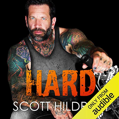 Hard audiobook cover art