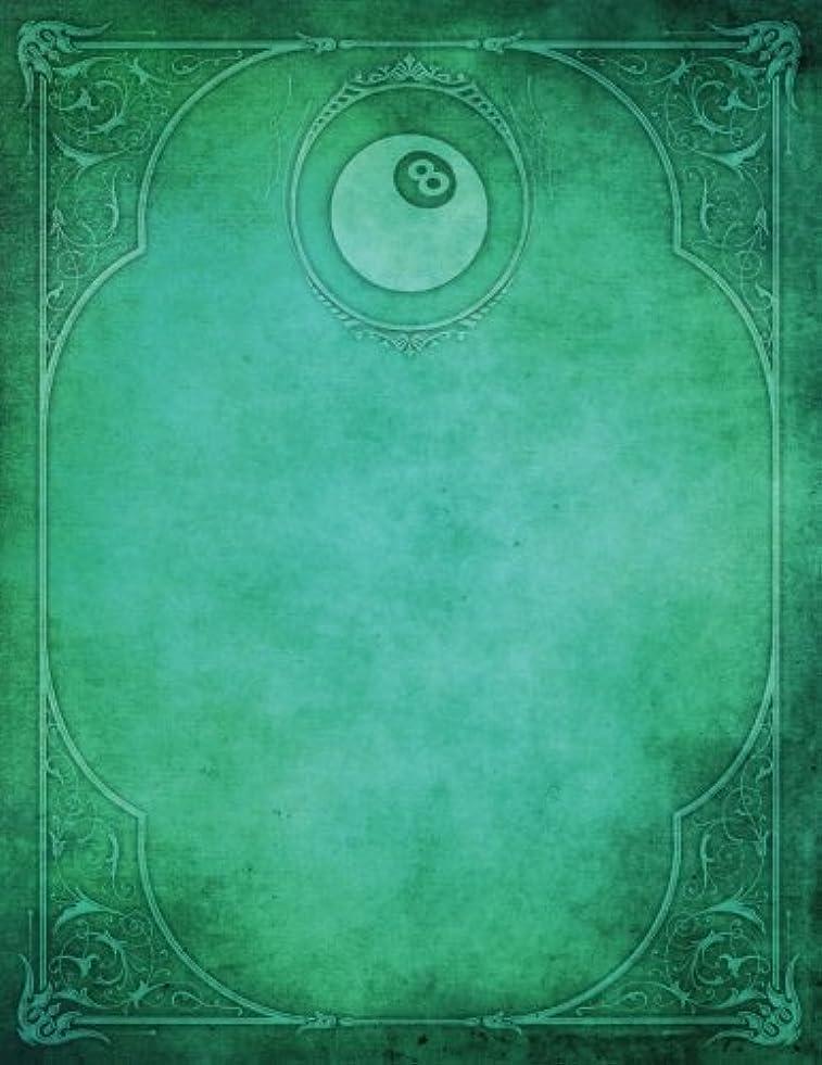 苦行トランペット主張するMonogram Pocket Billiards (Pool) Blank Sketchbook: Art Sketch Pad Notebook (Monogram Elegance 150 Sketch)