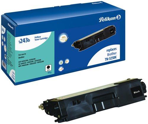 Pelikan Toner ersetzt Brother TN-325BK (passend für Drucker Brother HL 4570)