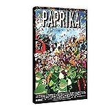 Paprika Anime Movie 1 Vintage art Canvas Poster Bedroom Decor Sports Landscape Office Room Decor DONGDA Poster Gift Frame:16×24inch(40×60cm)